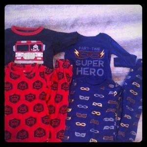 EUC 2T Pajama Bundle for Toddler Boy